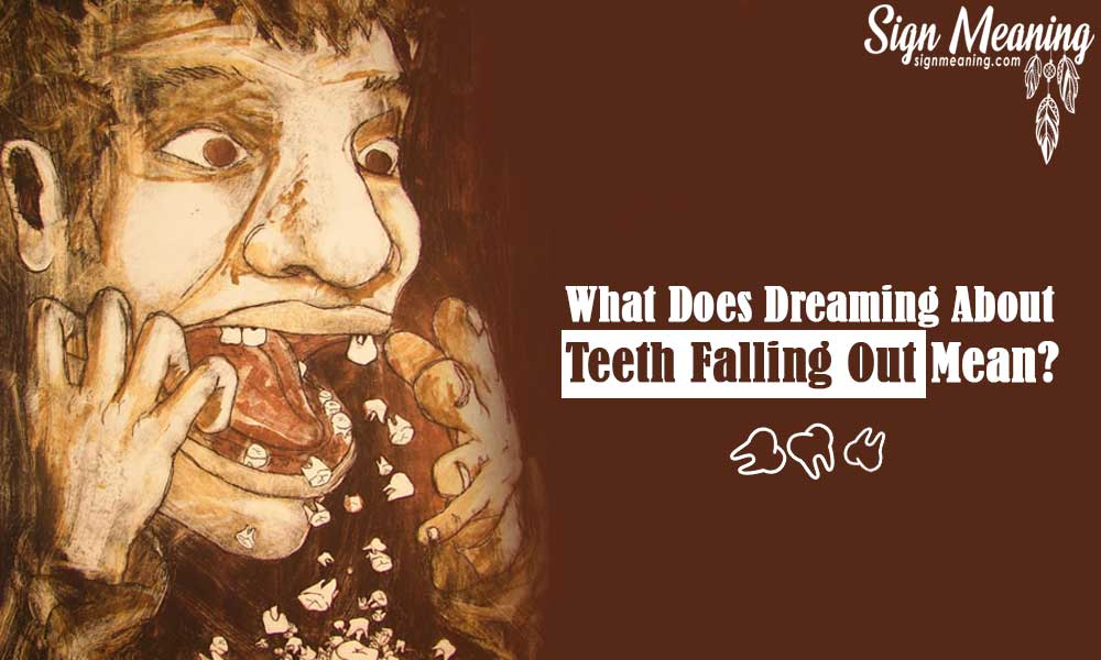 what does dreaming about teeth falling out mean