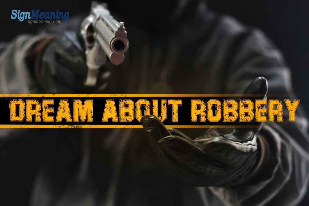 dream about being robbed