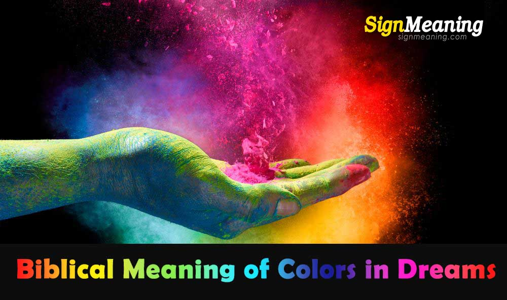 biblical meaning of colors in dreams