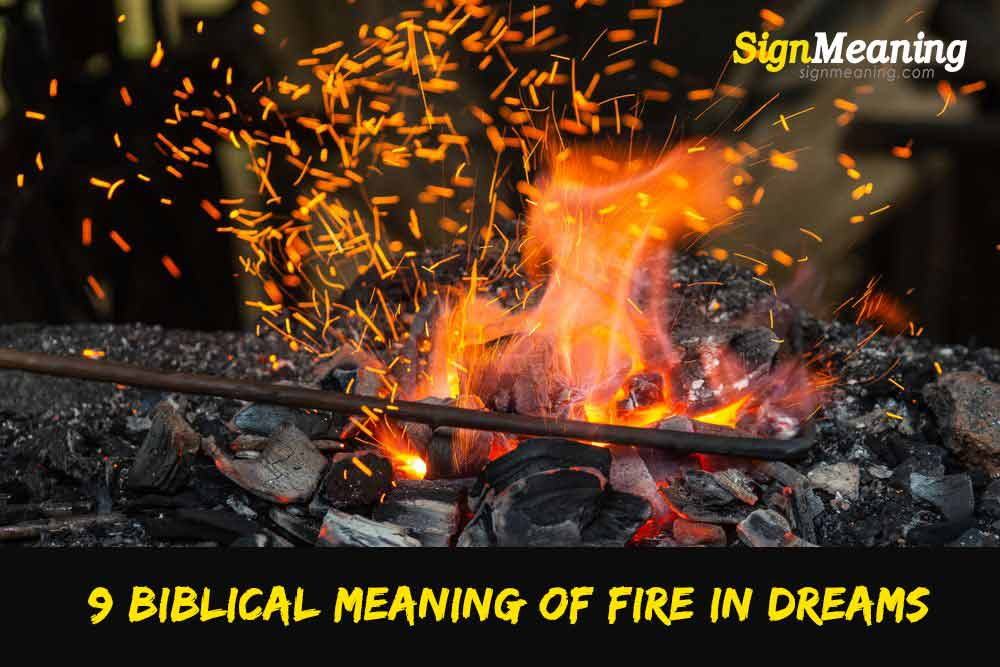 biblical meaning of fire in dreams