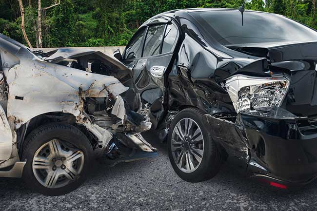 car crash dream