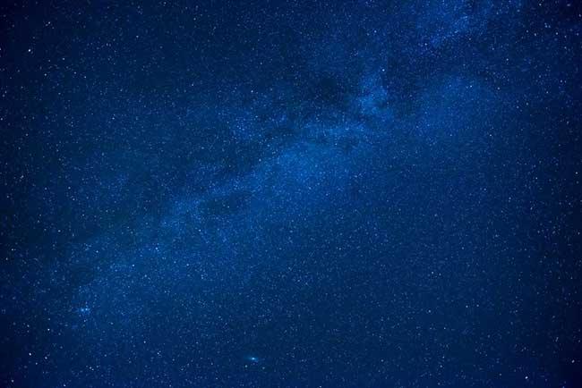 dream about blue color