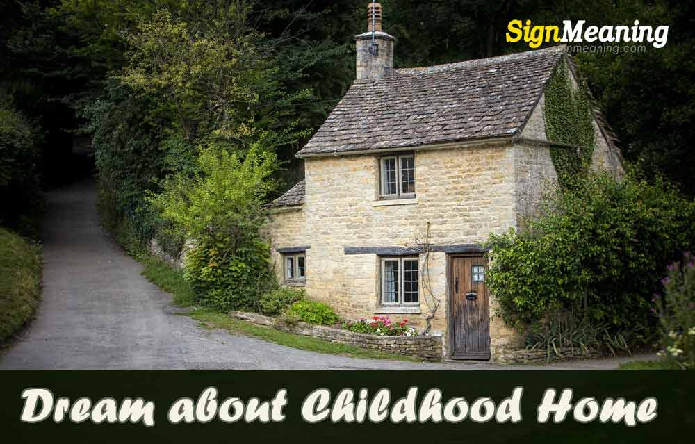 dream about childhood home