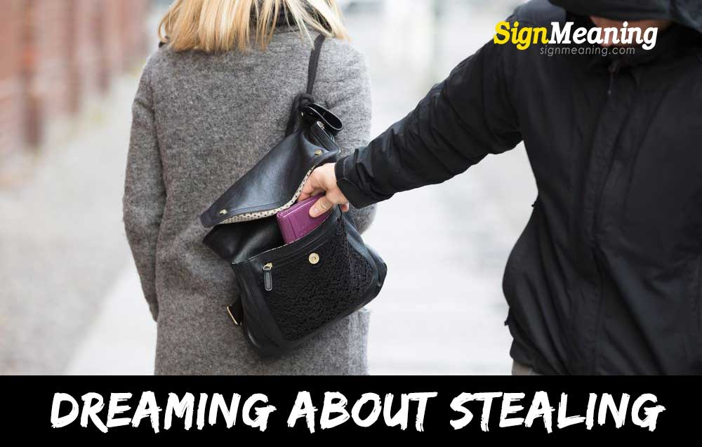 dream about stealing
