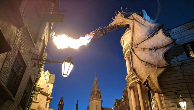 Watching A Dragon Breathing Fire in dream