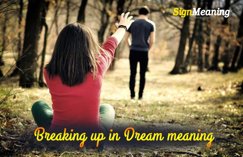 dreams about breaking up