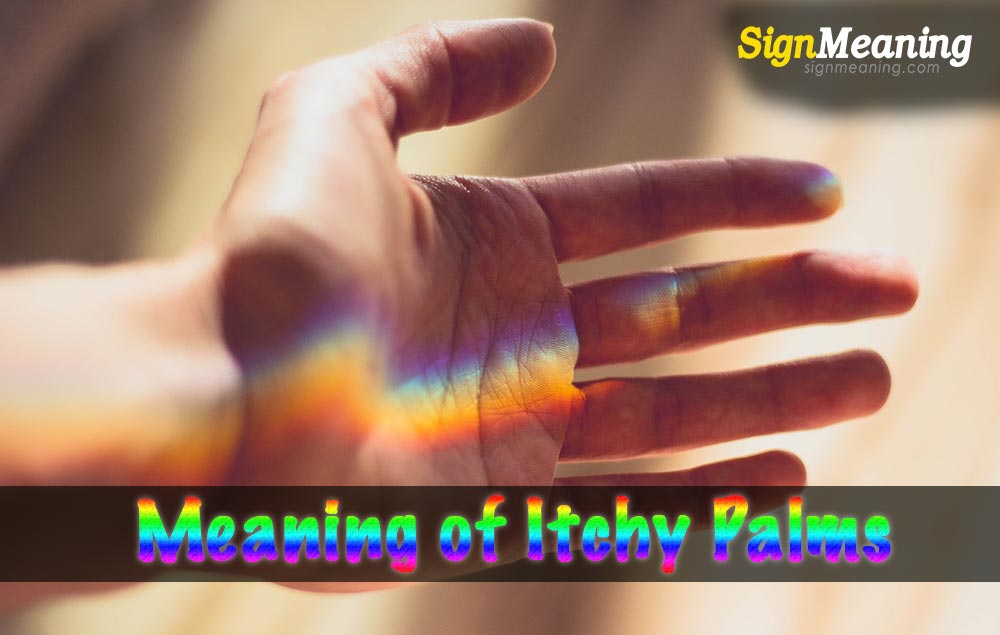 meaning of itchy palms