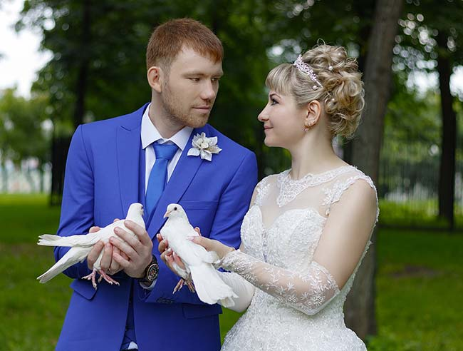 meaning of white dove in Wedding Ceremonies