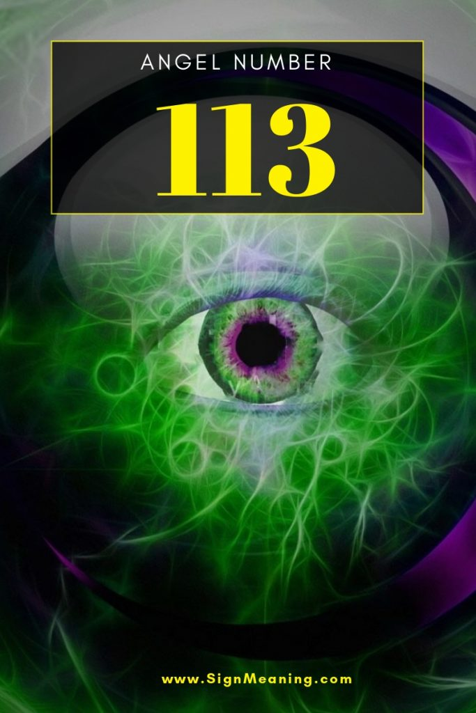 113 angel number meaning pinterest