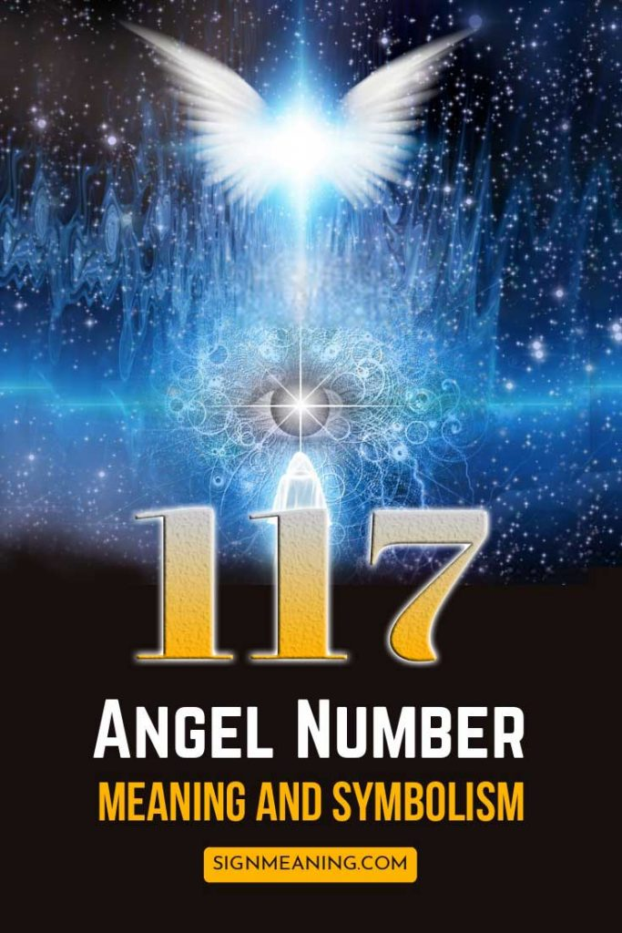 117 angel number meanings pinterest