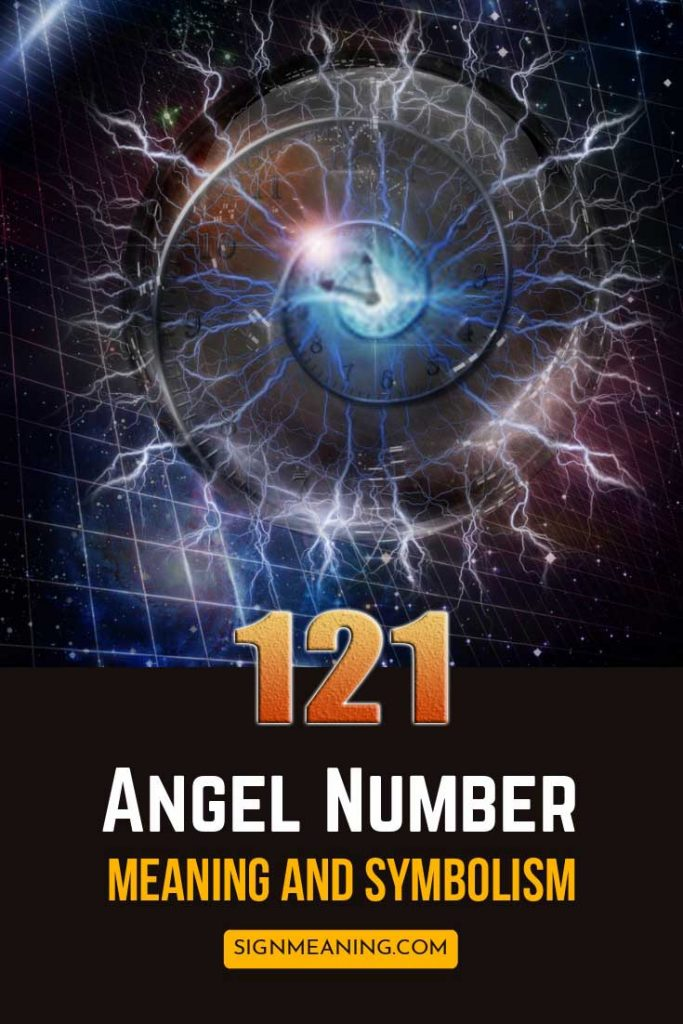 angel number 121  meaning pinterest