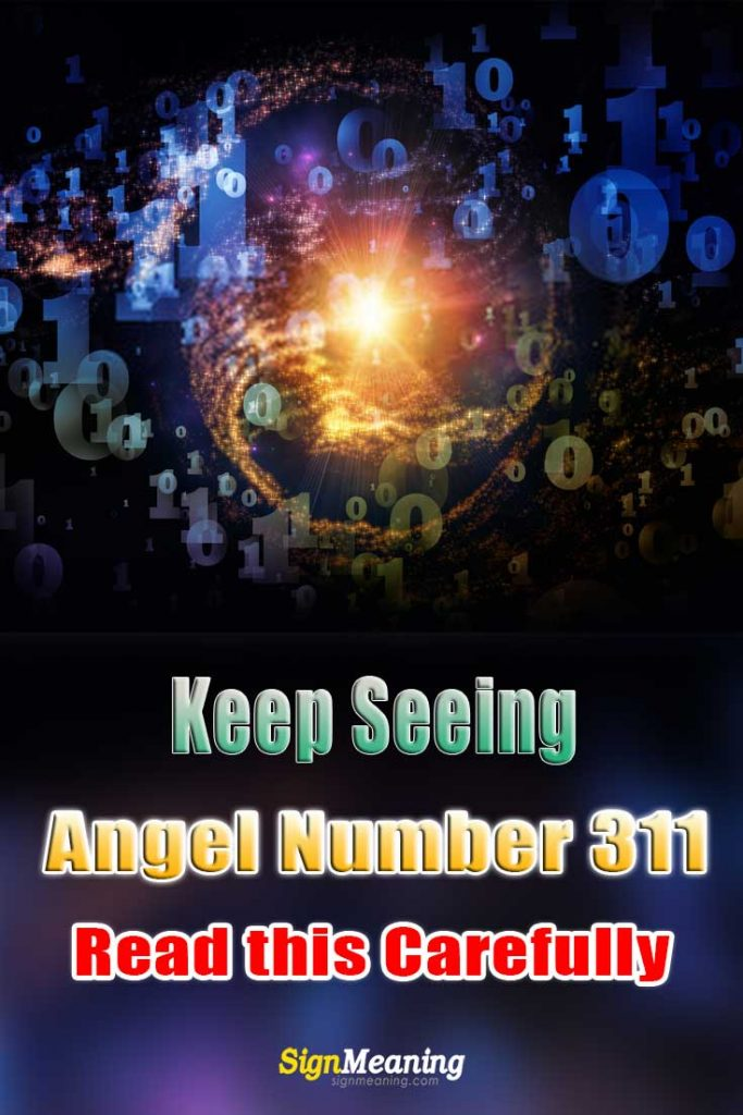 keep seeing Angel Number 311