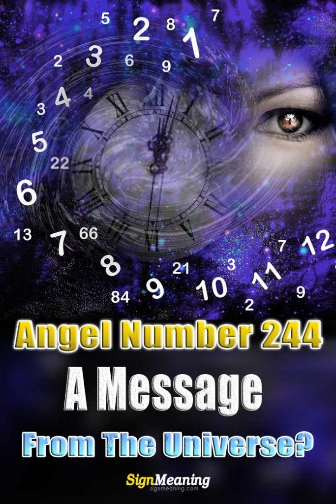 angel number 244 pinterest