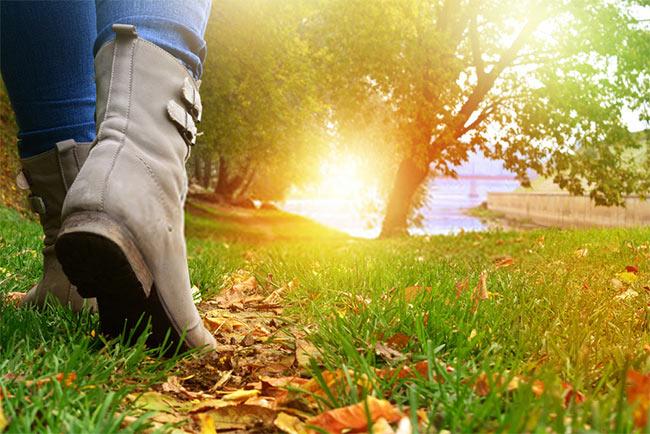 keep walking forward